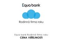 Odborná porota nás vybrala mezi TOP 10 firem v soutěži Equa bank Rodinná firma roku